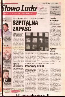 Słowo Ludu 2001 R.LII, nr 248 (Ponidzie, Jędrzejów, Włoszczowa,Sandomierz, Staszów, Opatów)