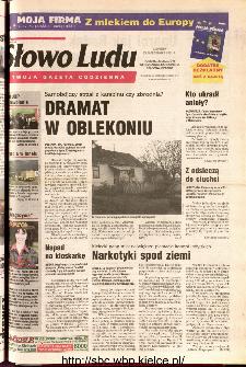 Słowo Ludu 2001 R.LII, nr 249 (Ponidzie, Jędrzejów, Włoszczowa,Sandomierz, Staszów, Opatów)