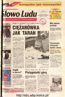 Słowo Ludu 2001 R.LII, nr 253 (Ponidzie, Jędrzejów, Włoszczowa,Sandomierz, Staszów, Opatów)
