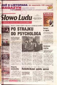 Słowo Ludu 2001 R.LII, nr 259 (Ponidzie, Jędrzejów, Włoszczowa,Sandomierz, Staszów, Opatów)