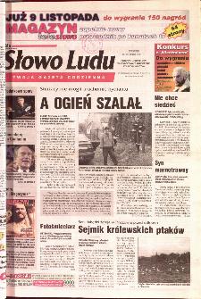 Słowo Ludu 2001 R.LII, nr 260 (Ponidzie, Jędrzejów, Włoszczowa,Sandomierz, Staszów, Opatów)