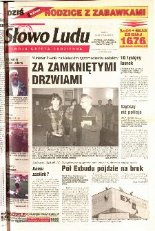 Słowo Ludu 2001 R.LII, nr 270 (Ponidzie, Jędrzejów, Włoszczowa,Sandomierz, Staszów, Opatów)