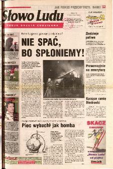 Słowo Ludu 2001 R.LII, nr 272 (Ponidzie, Jędrzejów, Włoszczowa,Sandomierz, Staszów, Opatów)