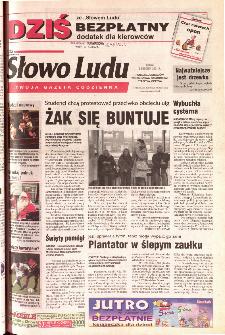 Słowo Ludu 2001 R.LII, nr 283 (Ponidzie, Jędrzejów, Włoszczowa,Sandomierz, Staszów, Opatów)