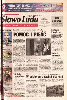 Słowo Ludu 2001 R.LII, nr 284 (Ponidzie, Jędrzejów, Włoszczowa,Sandomierz, Staszów, Opatów)