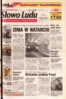 Słowo Ludu 2001 R.LII, nr 288 (Ponidzie, Jędrzejów, Włoszczowa,Sandomierz, Staszów, Opatów)