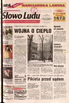Słowo Ludu 2001 R.LII, nr 294 (Ponidzie, Jędrzejów, Włoszczowa,Sandomierz, Staszów, Opatów)