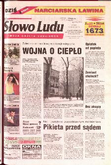 Słowo Ludu 2001 R.LII, nr 295 (Ponidzie, Jędrzejów, Włoszczowa,Sandomierz, Staszów, Opatów)