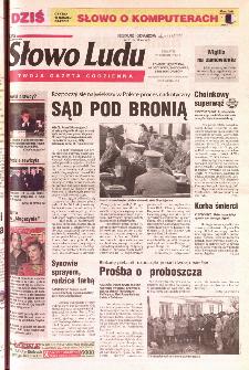 Słowo Ludu 2001 R.LII, nr 296 (Ponidzie, Jędrzejów, Włoszczowa,Sandomierz, Staszów, Opatów)