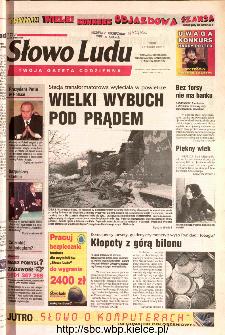 Słowo Ludu 2002 R.LIV, nr 13 (Ponidzie, Jędrzejów, Włoszczowa,Sandomierz, Staszów, Opatów)