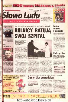 Słowo Ludu 2002 R.LIV, nr 14 (Ponidzie, Jędrzejów, Włoszczowa,Sandomierz, Staszów, Opatów)