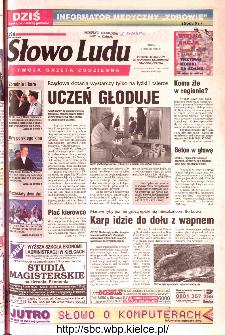 Słowo Ludu 2002 R.LIV, nr 31 (Ponidzie, Jędrzejów, Włoszczowa,Sandomierz, Staszów, Opatów)