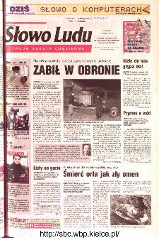 Słowo Ludu 2002 R.LIV, nr 32 (Ponidzie, Jędrzejów, Włoszczowa,Sandomierz, Staszów, Opatów)