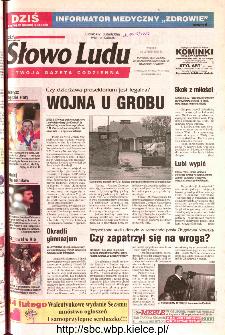 Słowo Ludu 2002 R.LIV, nr 36 (Ponidzie, Jędrzejów, Włoszczowa,Sandomierz, Staszów, Opatów)