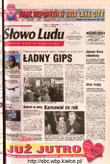 Słowo Ludu 2002 R.LIV, nr 37 (Ponidzie, Jędrzejów, Włoszczowa,Sandomierz, Staszów, Opatów)