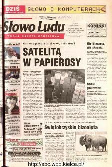 Słowo Ludu 2002 R.LIV, nr 44 (Ponidzie, Jędrzejów, Włoszczowa,Sandomierz, Staszów, Opatów)