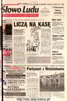 Słowo Ludu 2002 R.LIV, nr 49 (Ponidzie, Jędrzejów, Włoszczowa,Sandomierz, Staszów, Opatów)