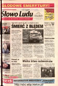 Słowo Ludu 2002 R.LIV, nr 54 (Ponidzie, Jędrzejów, Włoszczowa,Sandomierz, Staszów, Opatów)