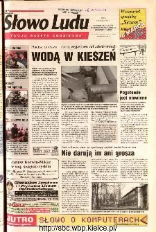 Słowo Ludu 2002 R.LIV, nr 55 (Ponidzie, Jędrzejów, Włoszczowa,Sandomierz, Staszów, Opatów)