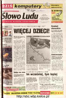 Słowo Ludu 2002 R.LIV, nr 62 (Ponidzie, Jędrzejów, Włoszczowa,Sandomierz, Staszów, Opatów)