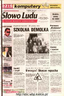 Słowo Ludu 2002 R.LIV, nr 68 (Ponidzie, Jędrzejów, Włoszczowa,Sandomierz, Staszów, Opatów)