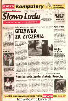 Słowo Ludu 2002 R.LIV, nr 77 (Ponidzie, Jędrzejów, Włoszczowa,Sandomierz, Staszów, Opatów)