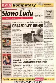 Słowo Ludu 2002 R.LIV, nr 78 (Ponidzie, Jędrzejów, Włoszczowa,Sandomierz, Staszów, Opatów)