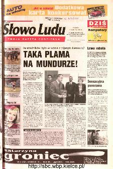 Słowo Ludu 2002 R.LIV, nr 96 (Ponidzie, Jędrzejów, Włoszczowa,Sandomierz, Staszów, Opatów)