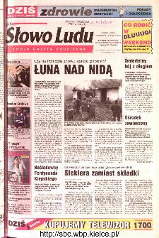Słowo Ludu 2002 R.LIV, nr 100 (Ponidzie, Jędrzejów, Włoszczowa,Sandomierz, Staszów, Opatów)