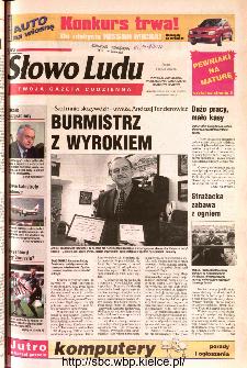 Słowo Ludu 2002 R.LIV, nr 105 (Ponidzie, Jędrzejów, Włoszczowa,Sandomierz, Staszów, Opatów)