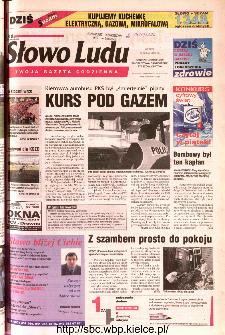 Słowo Ludu 2002 R.LIV, nr 110 (Ponidzie, Jędrzejów, Włoszczowa,Sandomierz, Staszów, Opatów)
