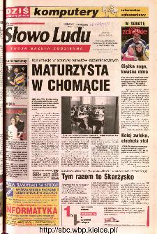 Słowo Ludu 2002 R.LIV, nr 112 (Ponidzie, Jędrzejów, Włoszczowa,Sandomierz, Staszów, Opatów)