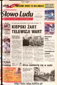 Słowo Ludu 2002 R.LIV, nr 122 (Ponidzie, Jędrzejów, Włoszczowa,Sandomierz, Staszów, Opatów)