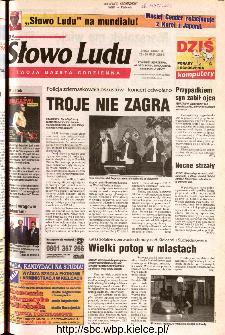 Słowo Ludu 2002 R.LIV, nr 123 (Ponidzie, Jędrzejów, Włoszczowa,Sandomierz, Staszów, Opatów)