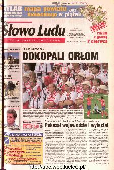 Słowo Ludu 2002 R.LIV, nr 128 (Ponidzie, Jędrzejów, Włoszczowa,Sandomierz, Staszów, Opatów)