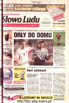 Słowo Ludu 2002 R.LIV, nr 133 (Ponidzie, Jędrzejów, Włoszczowa,Sandomierz, Staszów, Opatów)