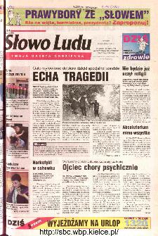 Słowo Ludu 2002 R.LIV, nr 139 (Ponidzie, Jędrzejów, Włoszczowa,Sandomierz, Staszów, Opatów)