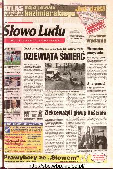 Słowo Ludu 2002 R.LIV, nr 140 (Ponidzie, Jędrzejów, Włoszczowa,Sandomierz, Staszów, Opatów)