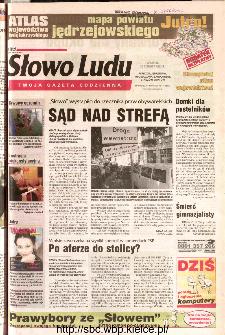 Słowo Ludu 2002 R.LIV, nr 141 (Ponidzie, Jędrzejów, Włoszczowa,Sandomierz, Staszów, Opatów)