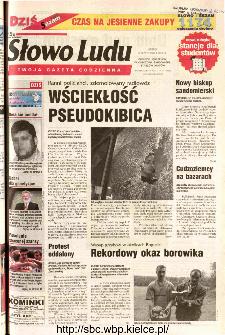 Słowo Ludu 2002 R.LIV, nr 234 (Ponidzie, Jędrzejów, Włoszczowa,Sandomierz, Staszów, Opatów)