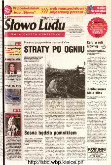 Słowo Ludu 2002 R.LIV, nr 236 (Ponidzie, Jędrzejów, Włoszczowa,Sandomierz, Staszów, Opatów)