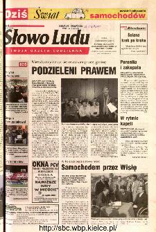 Słowo Ludu 2002 R.LIV, nr 241 (Ponidzie, Jędrzejów, Włoszczowa,Sandomierz, Staszów, Opatów)