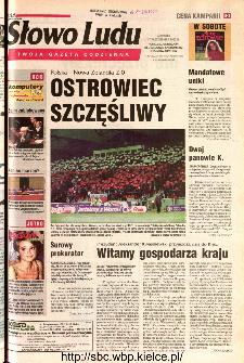 Słowo Ludu 2002 R.LIV, nr 242 (Ponidzie, Jędrzejów, Włoszczowa,Sandomierz, Staszów, Opatów)