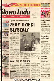 Słowo Ludu 2002 R.LIV, nr 246 (Ponidzie, Jędrzejów, Włoszczowa,Sandomierz, Staszów, Opatów)