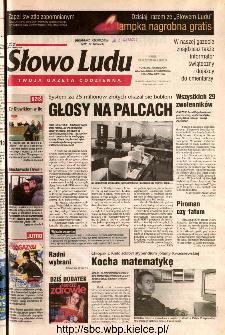 Słowo Ludu 2002 R.LIV, nr 253 (Ponidzie, Jędrzejów, Włoszczowa,Sandomierz, Staszów, Opatów)