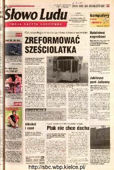 Słowo Ludu 2002 R.LIV, nr 264 (Ponidzie, Jędrzejów, Włoszczowa,Sandomierz, Staszów, Opatów)
