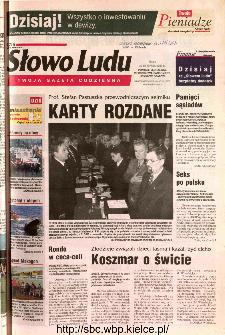 Słowo Ludu 2002 R.LIV, nr 269 (Ponidzie, Jędrzejów, Włoszczowa,Sandomierz, Staszów, Opatów)