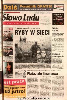Słowo Ludu 2002 R.LIV, nr 274 (Ponidzie, Jędrzejów, Włoszczowa,Sandomierz, Staszów, Opatów)