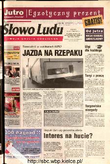 Słowo Ludu 2002 R.LIV, nr 276 (Ponidzie, Jędrzejów, Włoszczowa,Sandomierz, Staszów, Opatów)