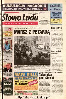 Słowo Ludu 2002 R.LIV, nr 293 (Ponidzie, Jędrzejów, Włoszczowa,Sandomierz, Staszów, Opatów)